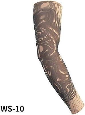 HSAWVE Outdoor Product Manguitos Brazo Tatuaje Brazo Puños ...