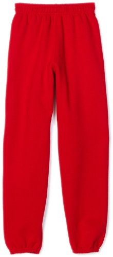 MJ Soffe Big Boys' Sweatpant, Red, Small