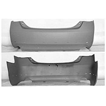 Fits Toyota Camry SE 07-11 Rear Bumper Local Pickup Painted To Match TO1100246