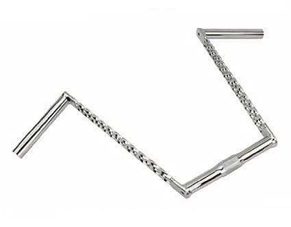 """NEW Bike Bicycle U Lowrider Bike Handle bar 15/"""" 25.4mm Chrome Cruiser Chopper"""