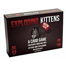 Exploding Kittens---Exploding Kittens Card Game,Family-friendly, Party Game
