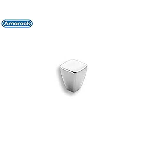 - Amerock BP2701826 Creased Bow Knob, Polished Chrome, 7/8-Inch Diameter by Amerock