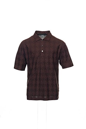 Tiger Woods Platinum by Nike Brown Polo Shirt Golf , Size...