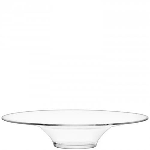 LSA International Serve Platter, 19.75'', Clear