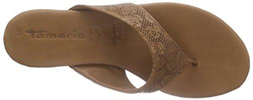 Tamaris 27114 - Sandalias de dedo Mujer Marrón - marrón (Nut 440)