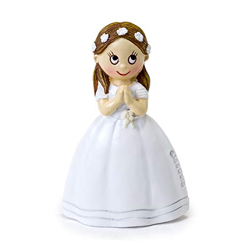 - Mopec First Communion Magnet Girl Pack of 12, White, 6 cm