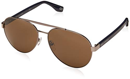 Marc Jacobs sunglasses (MARC-341-S PJP70) Dark Ruthenium - Blue - Brown lenses