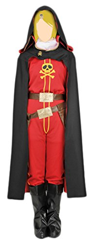 [Galaxy Express 999 The Movie - Queen Emeraldas Costume Set Size M (Ladies)] (China Cultural Costume)