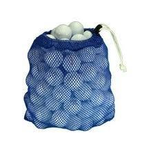 Golf Bag Pen Shape - 100 Ball Mesh Bag Hit Away Practice Used Golf Balls