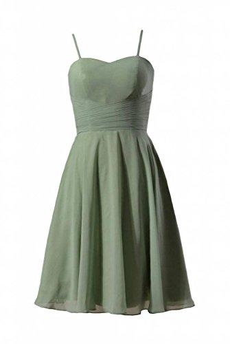 68dc5df3e3f8 DaisyFormals Short Chiffon Bridesmaid Dress Spaghetti Strap Party  Dress(BM8487E) Xanadu
