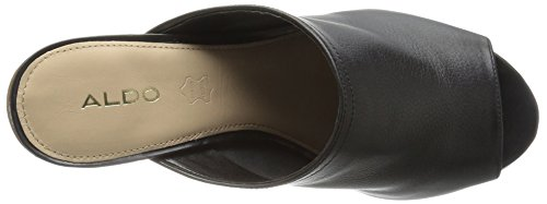 Dorthy B Women US 5 7 Black Heeled Aldo Leather Sandal 5SqxU
