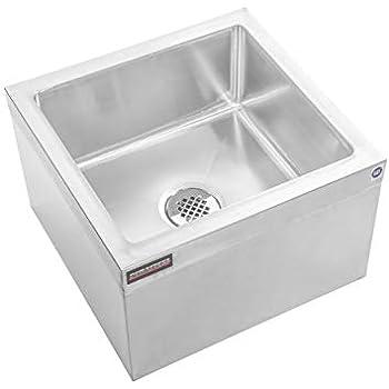 Amazon.com: ACE Floor Mount Mop Sink Stainless Steel: Home