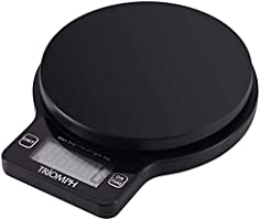 Triomph Digital KitchenScale, High Accuracy Multifunction Food Scale,CookingScale with0.1oz/ 1 g Increment, 11lb/5...