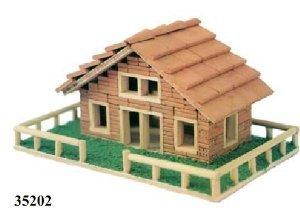 Casa ladrillos en Kit. Escala 1:20. Keranova 35202