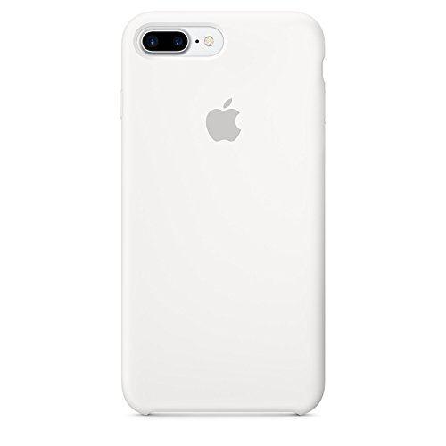 Apple Silicone Case for iPhone 7 Plus - White