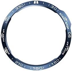 Metal Bezel Ring Adhesive Cover Replacement For garmi Fenix 6/Fenix6 Pro/Fenix 6 sapphire Classic Smart Watch Accessorie (As the shown)