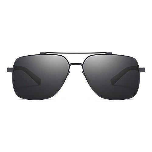 Color de Sol Sunglasses Frame Green Driving Retro Green Cool Protección de Aviator Sol para UV Polarized Metal Gafas Gafas Gentlemen Cool Sunglasses Hombre GWF wt180xqx