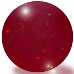 Red Glass Marbles, 100 Count Per Order, 1/2