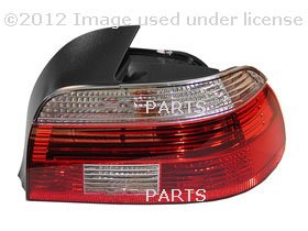 BMW OEM RIGHT REAR LIGHT, WHITE TURN INDICATOR, For 525i, 530i, 540i, 540iP, M5 by HELLA