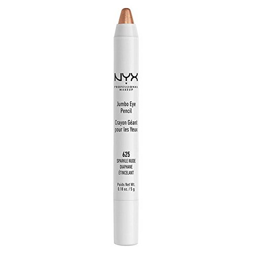 NYX PROFESSIONAL MAKEUP Jumbo Eye Pencil, Sparkle Nude, 0.18 Ounce