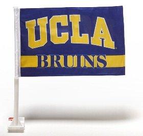 NCAA UCLA Bruins Car Flag with Free Wall (Ucla Bruins Wall)