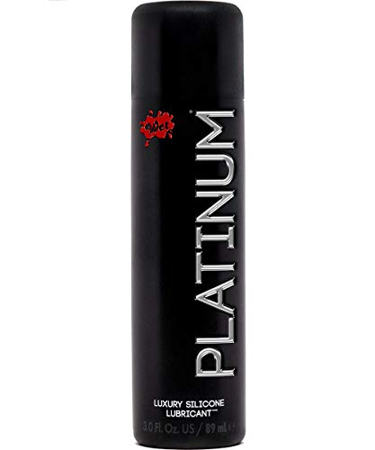 Wet Platinum Lube - Premium Silicone Based Personal Lubricant, 3.1 fl.oz (Elbow Grease Hot Gel)