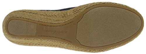 Easy Spirit Womens Dellina Espadrille Navy