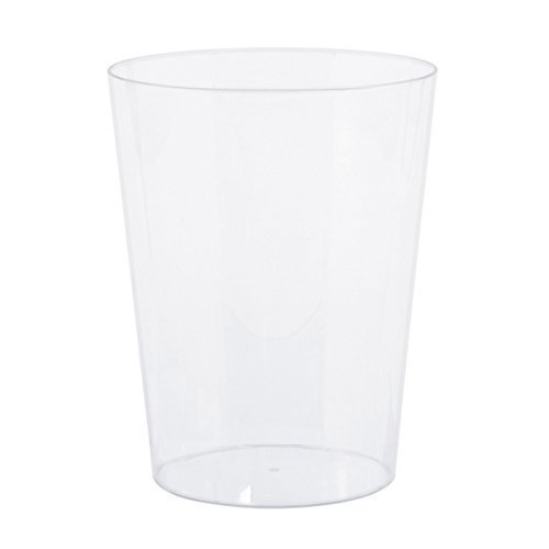 Amscan International Candy Buffet Clear Plastic Medium Cylinder Containers, 3 Pack