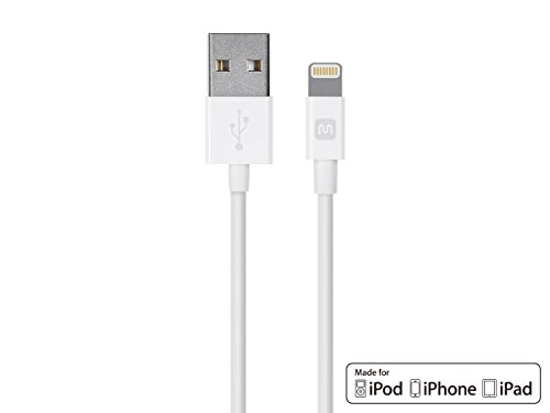 Monoprice Select Series Apple MFi Certified Lightning to USB Charge & Sync...