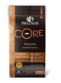 Wellness Core Grain - Wellness CORE Natural Grain Free Dry Dog Food - Original Recipe - 12lb