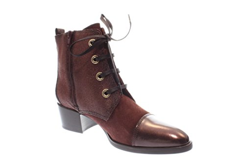 Hispanitas Damen Stiefel/Stiefelette bronce bordo (Rot) HI63848