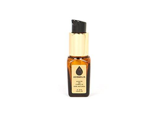 Olio di Camelia Puro prodotto in Europa - cosmetico naturale - il miglior olio di camelia - 10ml Acemelia