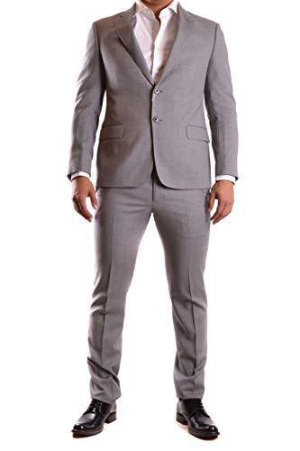 Armani Collezioni Men's Ucvgebuc005605 Grey Wool ()