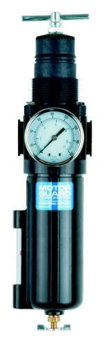 Motor Guard AC4535 1/2 NPT Combination Compressed Air Filter Regulator by Motor Guard