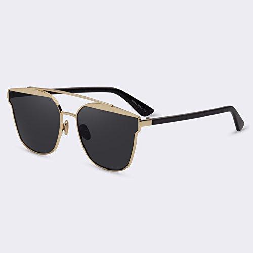 C01Gray de Gafas C05Espejo marco Eyewears reflejado objetivo de Gafas calidad Señor Ponte lujo sol TIANLIANG04 Doppio mujeres wCaqAxn6