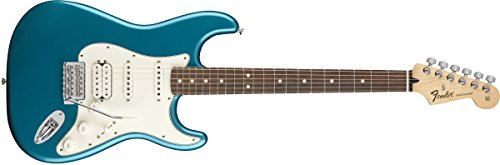 Fender Standard Stratocaster Electric Guitar   Hss   Pau Ferro Fingerboard  Lake Placid Blue