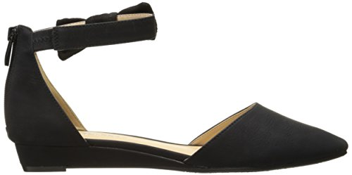 Toe Flat Laundry by Nubuck Sonje Chinese Women's Black Pointed CL w7WOxfw