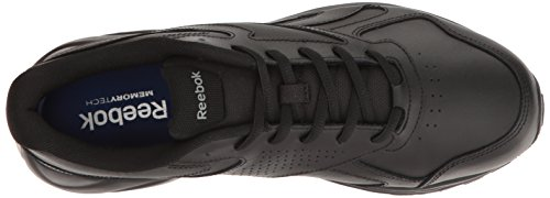 Reebok Mens Ultra V Dmx Max Walking Shoe Nero / Grigio Piatto