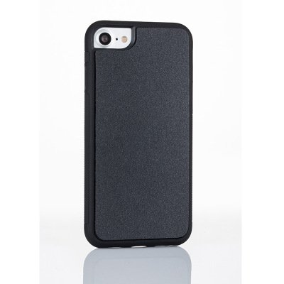 new york 8bbfb bcd93 Anti Gravity Magical Nano Sticky Back Cover Case for iPhone 6/6S/7/8 (Black)