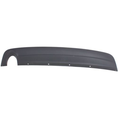 Perfect Fit Group REPC764302 - Malibu Rear Lower Valance, Bumper Cover Extension, Textured, W/ Single Exhaust Hole, 2.4L/ 3.5 Eng