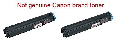 2 compatible replacement Cannon ImageRunner 1025 black printer ink toner cartridge to replace Canon GPR22 0386B003AA for copier Image-Runner GPR-22 laser copy machine