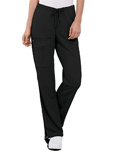 (Jockey Women's Scrubs Scrub Pant, Black, L)