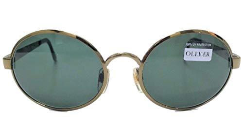 Vintage Sole verde Made 56x18x135 1864 Valentino Art Italy 1313 Da By In Oliver Occhiale Con Mm Grigio Lenti q80OWpc7