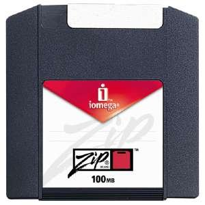 Iomega Zip Disks 100 MB 3 Pack PC/MAC