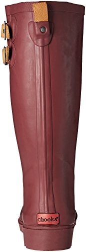 Wine Top Women's Rain Solid Chooka Boot WXvYgPWz