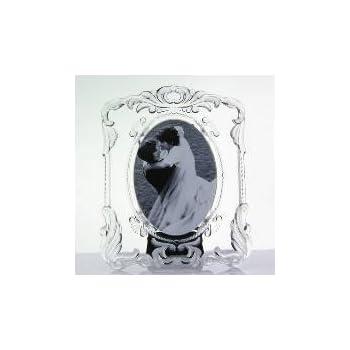 Amazon.com - Mikasa Princess oval 5x7 crystal frame - Luxury Frames