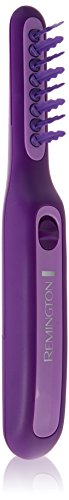 Remington DT7432 Wet or Dry Tame The Mane Electric Detangling Brush with Brush Cover, Adults & Kids, (Batteries Included)
