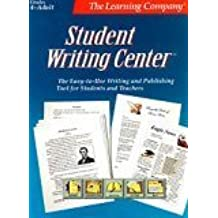 The Learning Company Student Writing Center for Windows: Grades 4-adult