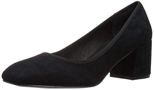 New Black Kenneth Dress Heel Suede Square Low Cole Eryn Women's Toe Pump York ax1Tn
