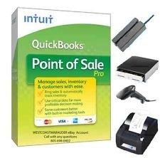 QuickBooks Point of Sale Pro v12 Desktop w/ Hardware